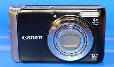 Canon PowerShot A3150 IS 12.1MP Digital Camera - Black - Faulty - 1870