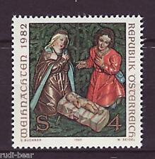 Österreich Nr. 1724  **  Weihnachten  Weihnachtskrippe Kirch Damüls