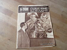 JOURNAL MIROIR DES SPORTS BUT CLUB  729 16 fevrier 1959 charles humez