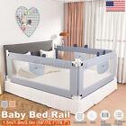 Baby Guard Bed Rail Toddler Safety Adjustable Kids Infant Bed Universal 59/70/79
