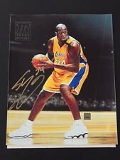 Shaquille O'Neal 2000-01 Topps Reserve Canvas 8X10 Autograph / auto LA Lakers