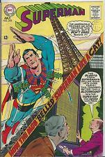 SUPERMAN #208 (DC) 1ST SERIES - 1968 (FN- 5.5)