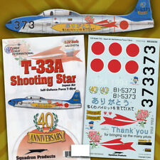 "T-33A (F-80) Shooting Star ""T-Bird"" of JASDF (1/32 decals, Superscale 320256)"