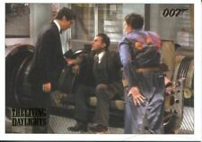 James Bond Archives 2016 Spectre Gold Parallel Living Daylights Chase Card #11