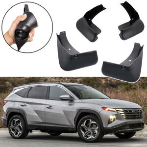 4Pcs Car Mud Flaps Splash Guards Fender Mudguard for Hyundai Tucson 2022-Up