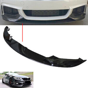 FIT BMW 4 SERIES F32,33,36 FRONT DIFFUSER SPLITTER VALANCE SPOILER SIDE SKIRTS