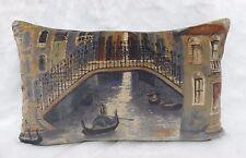 ZOFFANY Funda De Cojín tela THE GONDOLIER Crepúsculo - Terciopelo - 40cm x 60cm