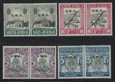 SW Africa 1935 Voortrekker Monument set Sc# B1-4 mint