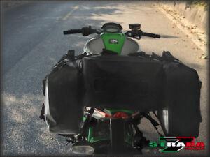 Strada 7 Motorcycle Universal 40L Combo Dry Duffle Rear Bag KTM 950 Supermoto