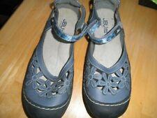Comfortable Classy Summer Blue Leatherett Flower Dress Skirt Mary Jane Cute Shoe