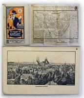 Prospekt Ich führe Sie durch Erfurt und Umgebung um 1915 Ortskunde Geographie xy