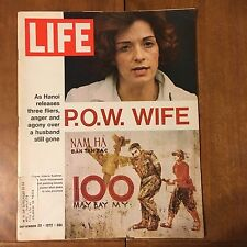 LIFE Magazine ~ September  29 1972 ~ P.O.W. Wife ~ Boom For Kampgrounds~70's Ads