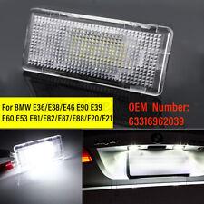 White Error Free LED Luggage Trunk Boot Light For BMW 3 5 6 Series X1 X5 E46