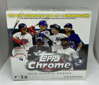 2020 MLB Topps Chrome Update Series Blaster Box Factory Sealed Baseball Cards
