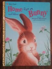 Home for a Bunny by Margaret Wise Brown (1999, LARGE Hardcover) Golden Books