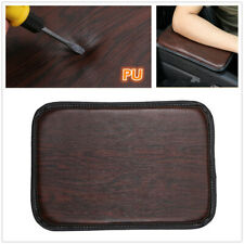 Auto Center Console Pad Car Armrest Seat Box Cover Protector Universal Leather