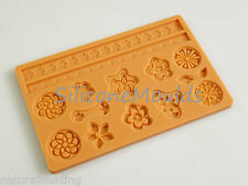 EMBELLISH Silicone Cake Decoration Sugarpaste Fondant Bakeware Mould Mold Topper