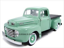 1948 FORD F-1 PICK UP GREEN 1:18 SCALE DIECAST MODEL CAR BY ROAD SIGNATURE 92218