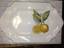 """Villeroy & Boch CASCARA 15 3/4"""" Oval Platter"""