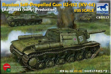Bronco 1/35 35113 Ruso arma autopropulsada Su-152 (Kv-14) Early Tipo