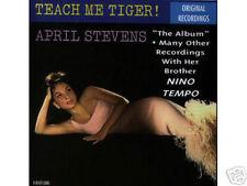 APRIL STEVENS - Teach me Tiger - Rare POP CD