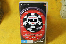 World Series Poker 2008 PSP - FREE POST *
