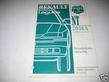 Werkstatthandbuch Renault Laguna Motor F9Q, 1998