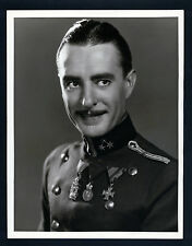 SILENT STAR JOHN GILBERT - OVERSIZE DBLWT 1929 PHOTO BY LOUISE - LARGE - SIL