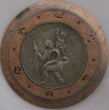 Saint Christopher mens wristwatch Dial 32 mm. in diameter