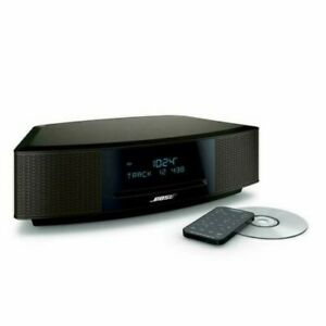 New Bose Wave Music System IV with Remote, CD Player and AM/FM Radio black.