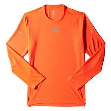 Camisetas y polos de deporte de hombre rojos adidas