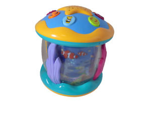 Baby Musical Development Toy Aquarium Rotating Lights Talking Round Projection