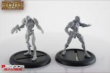 Prodos Games: Warzone Resurrection - Cybertronic Cuirrssier Atilla MK III (32mm)