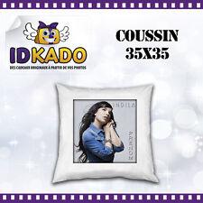 Coussin INDILA personnalisé avec PRENOM  réf:COU-10 décoration chambre enfant