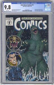 Dark Horse Comics #11 CGC 9.8 HIGH GRADE Godzilla Aliens Predator Chuck Dixon