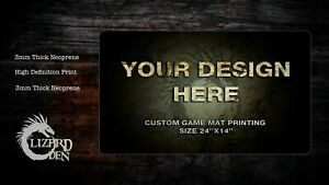 Custom Game Mat Printing
