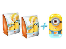 Minions Schwimm-Set (Inflatable Armbands + Shower Gel & Shampoo) for Children