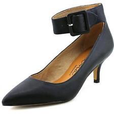 Zapatos de tacón de mujer de color principal negro de piel talla 36.5