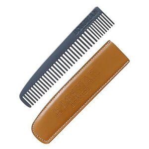 Bossman Powder Coated Metal Beard & Mustache Comb, Patent Pending Design of for