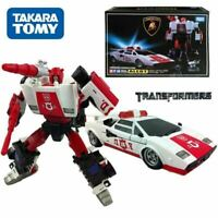 Transformers Masterpiece MP-14 ALERT LAMBORGHINI Robot Car Action Figure KO Toy