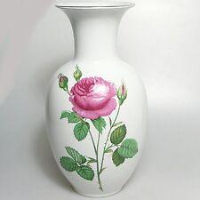 Große KPM Royal Bavaria Vase Rosenvase ca. 28 x 14 cm Rosenmotiv