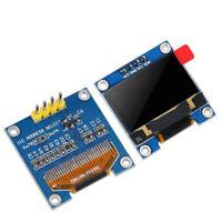 """3V~ 5V DC 0.96"""" I2C IIC Serial 128X64 128*64 Blue OLED LCD LED Display Module Z"""