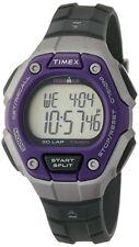 Timex Watch TW5K89500 Ironman Classic 30 Digital Unisex Grey Purple Watch