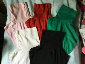 Vtg lot of 5 Spandex polycotton DICKIE DICKEY turtleneck collar one size