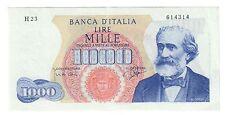 1000 LIRE VERDI I° TIPO 14 01 1964 RARA spl  NON TRATTATA LOTTO 930