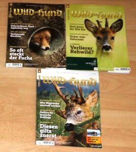 Wild und Hund 7/21, 8/21 und 9/21