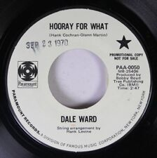 Hear! Rock Promo 45 Dale Ward - Hurra para Qué / Freedom Isn ' T Free On