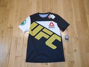 Reebok Combat ANDERSON SILVA Walkout Shirt Jersey Mens Medium UFC MMA Brasil $80