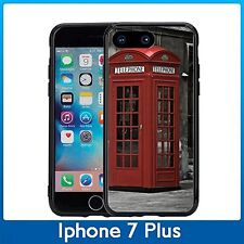 British Telephone Booth For Iphone 7 Plus & Iphone 8 Plus (5.5) Case Cover