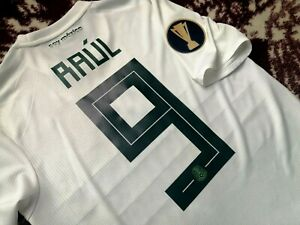 Jersey adidas mexico Raul Jimenez 2019 S Player Issue climachill gold cup wolves